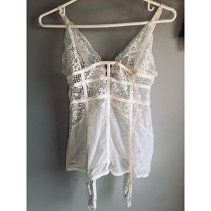 Other - 2/50$ Off white lace lingerie
